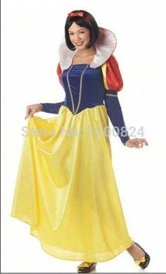 Adult Snow White Halloween Costume Sexy Snow White Costume Fantasia Halloween Costumes For Women Princess Dress