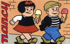 Nancy  & Sluggo