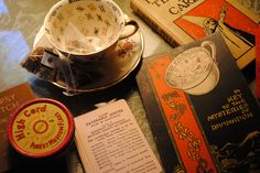 Fortune-Telling Tea Leaves   ... Knowledge.....reading tea leaves..... lovely, simply lovely