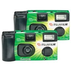 We will definitely need some disposable cameras to take photos everywhere we go. Then after they're developed, we will examine them closely for strange phenomenon (eek!)