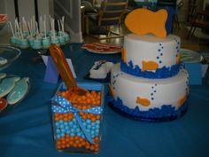 Goldfish cake.
