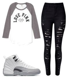 """Key To The Streets"" by kodak-miyaaaa ❤ liked on Polyvore featuring Victoria's Secret and WithChic"