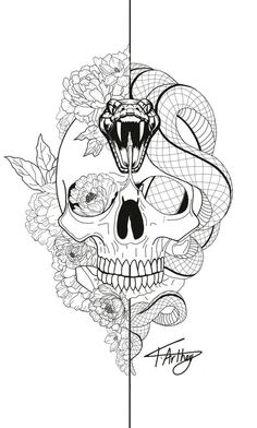 Snake Tattoo Meanings Itattoodesigns Com - Rose And Snake Tattoos A Rose By Anot., - Snake Tattoo Meanings Itattoodesigns Com – Rose And Snake Tattoos A Rose By Anot…, - Skeleton Tattoos, Skull Tattoos, Body Art Tattoos, Sleeve Tattoos, Word Tattoos, Tatoos, Key Tattoos, Tattoo Designs, Skull Tattoo Design