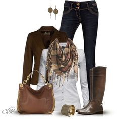 """Fringed Scarf"" by chloe-813 on Polyvore"