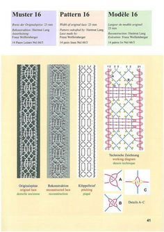 .Nice simple lace Bobbin Lacemaking, Old Pillows, Bobbin Lace Patterns, Lace Heart, Lace Jewelry, Tatting Lace, Lace Making, Lace Detail, Album
