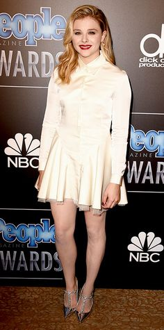 2014 People Magazine Awards: Standout Looks from the Red Carpet - Chloë Grace Moretz from #InStyle