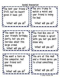 Printables Social Skills Problem Solving Worksheets photo editor and problem solving on pinterest life skills social task cards worksheets for middlehigh school