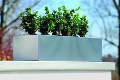 Radius Design - Blumenkasten Edelstahl 50 cm
