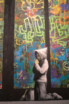 MOCA, Art In The Streets, Los Angeles - unurth   street art - BANKSY