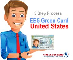 3 step process for EB5 visa to United States #EB5 #GreenCard #immigration