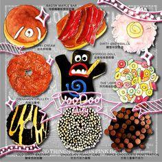 Voodoo donuts ~ illustration