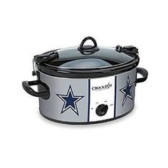 NFL Dallas Cowboys 6 Quart Crock Pot Slow Cooker & FREE SHIPPING