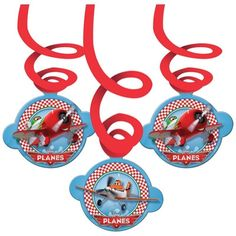 6 Assorted Disney's Planes Movie Party Hanging Cutout Swirls Decorations #disney #Birthday https://twitter.com/BandPUSA