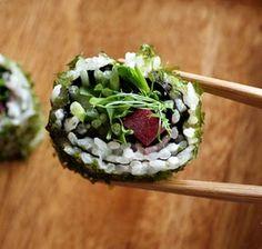 vegan sushi!