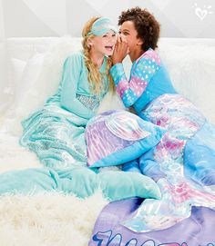 Every girl is really a mermaid! Make the next sleepover with her besties even more magical!