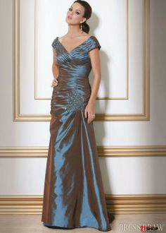 In white?  http://www.99dress.org/fantastic-beaded-sheath-offtheshoulder-floorlength-mother-of-the-bride-dresses-p-6867.html