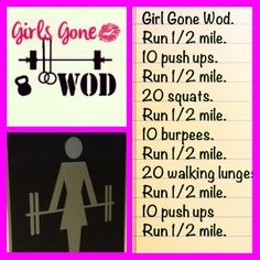 Girls gone wod #WOD #crossfit #TeamAwesome