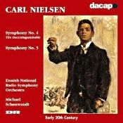 John J. Puccio at Classical Candor reviews Nielsen: Symphonies Nos. 4 & 5, with Michael Schonwandt and the Danish NRSO on a Dacapo Records CD.