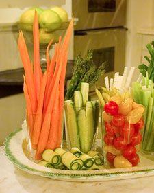 #Veggie Tray beautified