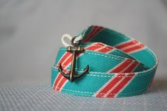 Nautical bracelet with old old anchor! Awesome bracelet