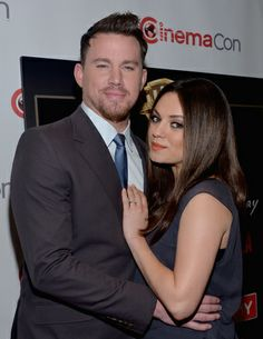 """Jupiter Ascending"" stars Mila Kunis and Channing Tatum were on the red carpet at CinemaCon in Las Vegas to promote their upcoming movie, ""Jupiter Ascending. Channing Tatum Jupiter Ascending, Jupiter Ascending Movie, Jupiter Acending, Celebrity Gossip, Celebrity News, Chaning Tatum, Bravo Tv, Mila Kunis, Photo Awards"