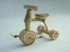手づくり竹クラフト~今昔の乗り物