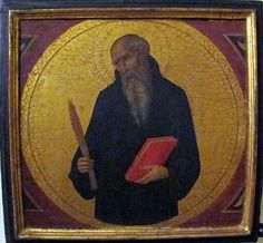 Sano di Pietro - San Benedetto - 1460 ca. - Pinacoteca Vaticana, Città del Vaticano