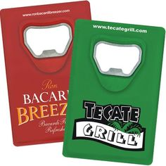 Customize your own quote bottle openers with your name or logo.