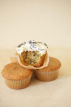 lemon-lavender cupcakes.