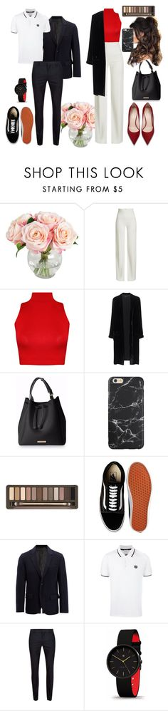 """look?"" by amelia-1sasha1 ❤ liked on Polyvore featuring Brandon Maxwell, WearAll, Jadicted, Urban Decay, Vans, Joseph, Kenzo and Topman"