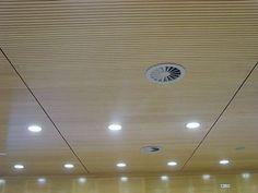 Faux-plafond acoustique / en bois / en dalle SAGITARIO SPIGOGROUP