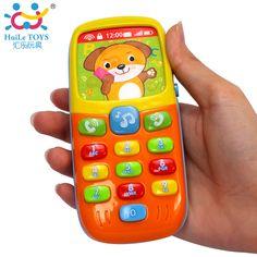 Originele Huile Speelgoed Elektronische Speelgoed Telefoon Kid Mobiele Telefoon Mobiel Telefoon Educatief Leren Speelgoed Muziek Machine Baby Telefoon