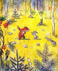 Сказочные иллюстрации - Сутеев В.Г.