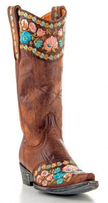 Womens Old Gringo Gaylaover Boots Brass #L1103-2 via @Allens Boots