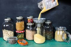 spring cleaning you store cupboards via jamie oliver