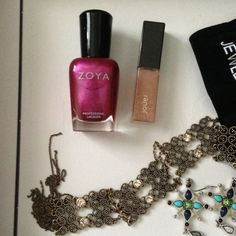 """Zoya nail polish with Jouer mini lipgloss bundle BRAND NEW Limited edition Zoya full size nail lacquer in FabFitFun Fuchsia and the Jouer Lip gloss in """"glisten."""" Zoya polish is formaldehyde, toluene, dibutyl phthalate and camphor free. The gloss, 0.11 fl oz (regular size is 0.17 fl oz), is loaded with vitamins, Shea butter, jojoba oil, and pomegranate seed oil, so your lips will be smooth and hydrated. Zoya Other"""