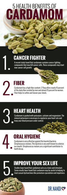 Cardamom is a spice native to the Middle East, North Africa, and Scandinavia. There are three types of cardamom; green, black and Madagascar cardamom. Guatemala is the largest producer of cardamom in the world. Add this ingredient to your diet! Cardamom Benefits, Coconut Health Benefits, Types Of Cheese, Cancer Fighting Foods, Heart Healthy Recipes, Healthy Foods, Healthy Mind, Spinach And Cheese, Cancer Facts