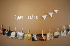 """I love """"time flies"""" for a theme for baby's first birthday"""
