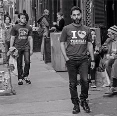 * I love Tehran * on a man's shirt . Iranian Actors, We Wear, How To Wear, Persian Pattern, Tehran, Boy Or Girl, Actresses, Street Style, Boys