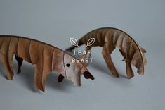 Leaf Beasts Sculptures – Fubiz™