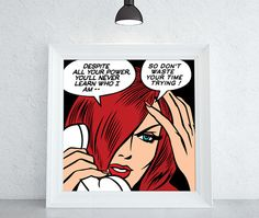 Black Widow Downloadable Comic Book Illustration by ComicsLand