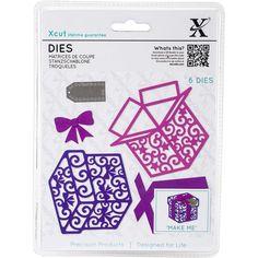 Xcut Decorative Die 6 pack Filigree Presents