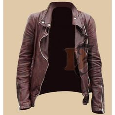 Once Upon A Time Leather Jacket S2 - Emma Swan Brown Jacket