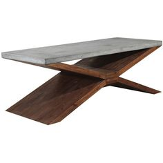 Accent your home design with the Vixen coffee table. Featuring a natural brown color that will accompany any style.