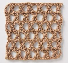 Stitchfinder : Crochet Stitch: Star Mesh : Frequently-Asked Questions (FAQ) about Knitting and Crochet : Lion Brand Yarn