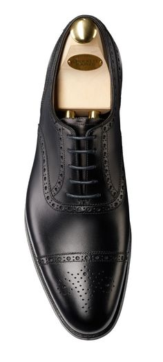 Barrington 2 Black Calf Men's Collection | Crockett & Jones