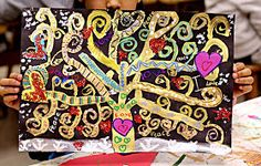 smART Class: Gustav Klimt Tree of Life and so much more!