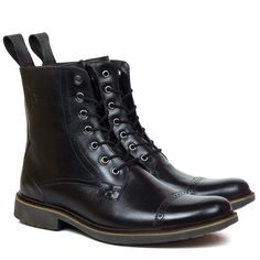 Bota Black Boots Boston Preta - Compre Online - Black Boots