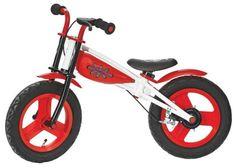 """Mit dem Laufrad """"Billy"""" geht es für Ihren Liebling auf große Fahrt! Der rote Flitzer aus Aluminium und Kunststoff ist in der Höhe verstellbar und somit für unterschiedliche Körpergrößen geeignet. Eine kindgerechte Handbremse sorgt für mehr Sicherheit auf der ersten großen Bikertour. Ein gepolsterter Sessel sorgt für einen bequemen Sitz. Machen Sie Ihrem Sprössling eine Freude mit diesem Laufrad!"""
