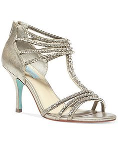 e5d2e2fbf05203 Blue by Betsey Johnson Rock Evening Sandals - Evening   Bridal - Shoes -  Macy s